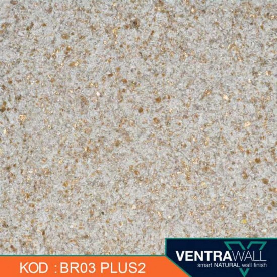 Kahverengi Dayanıklı Duvar Boyası Ventrawall BR03-PLUS2