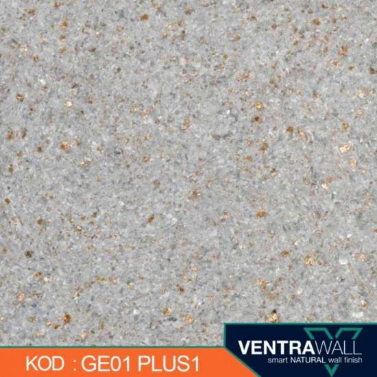 Gri Simli Duvar Boyası Ventrawall GE01-PLUS1