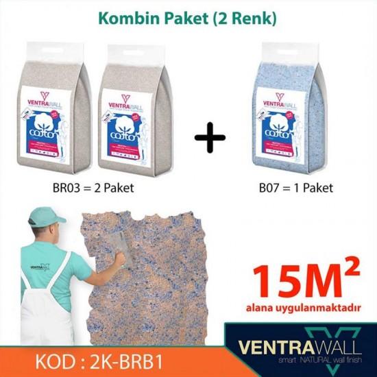 Kombin Renk Duvar Boyası Ventrawall 2K-BRB1