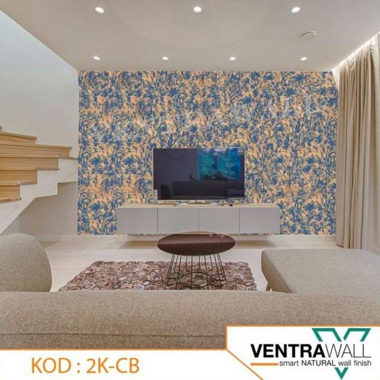 2 Kombine Renk Ventrawall Duvar Boyası 2K-CB