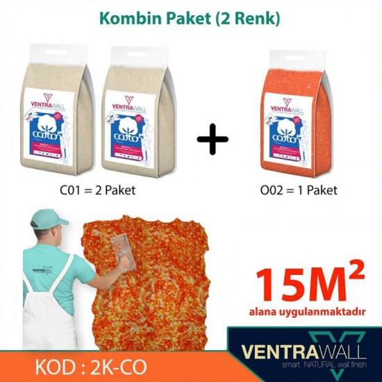 2 Kombine Renk Duvar Boyası Ventrawall 2K-CO