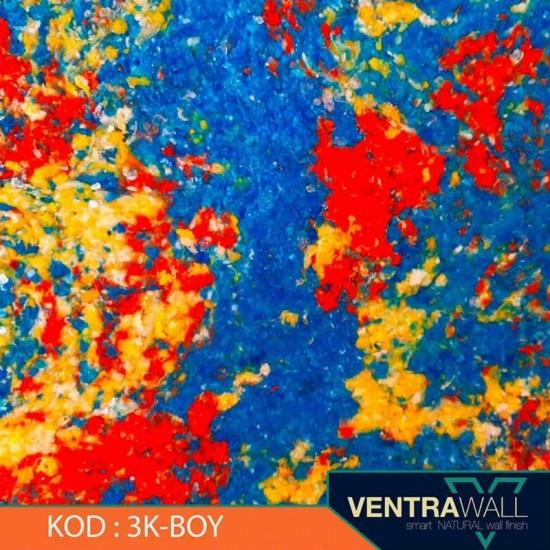 3 Kombine Renk Duvar Boyası Ventrawall 3K-BOY