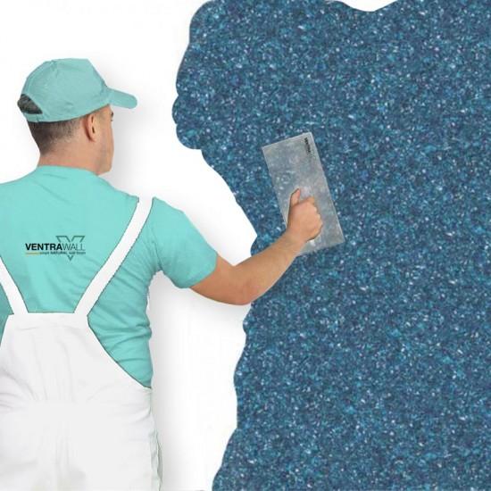 Mavi Isı Yalıtımlı Duvar Boyası Ventrawall B01