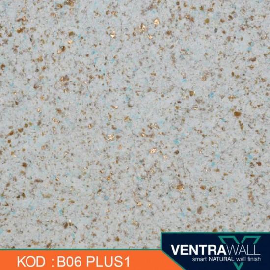 Mavi Isı Yalıtımlı Duvar Boyası Ventrawall B06-PLUS1