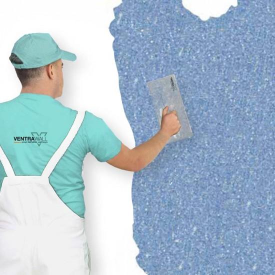 Mavi Renk Duvar Boyası Ventrawall B08