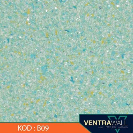 Mavi Duvar Boyası Ventrawall B09