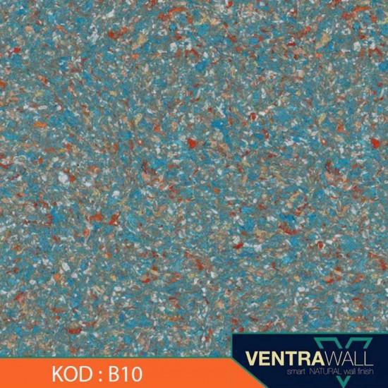 Mavi Renk Duvar Kaplama Ventrawall B10