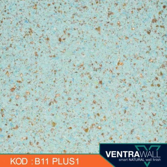 Mavi Isı Yalıtımlı Duvar Boyası Ventrawall B11-PLUS1