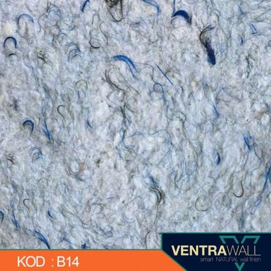 Mavi Duvar Boyası Ventrawall B14