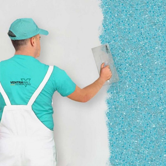 Mavi Renk Duvar Boyası Ventrawall B16