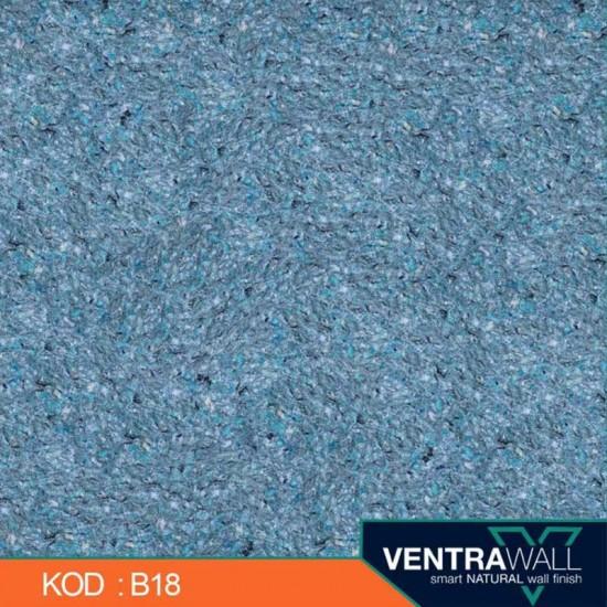 Mavi Renk Duvar Boyası Ventrawall B18