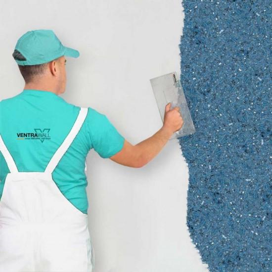 Mavi Isı Yalıtımlı Duvar Boyası Ventrawall B20
