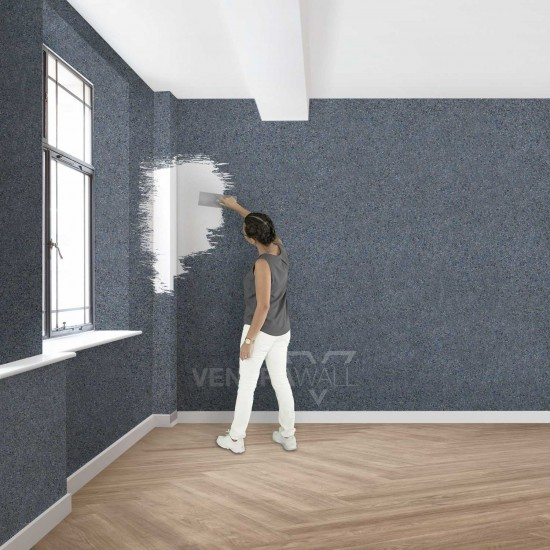 Isı Yalıtım Özellikli Duvar Boyası Ventrawall Mavi B21
