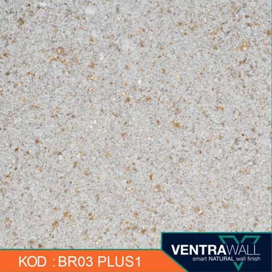 Kahverengi Duvar Boyası Ventrawall BR03-PLUS1