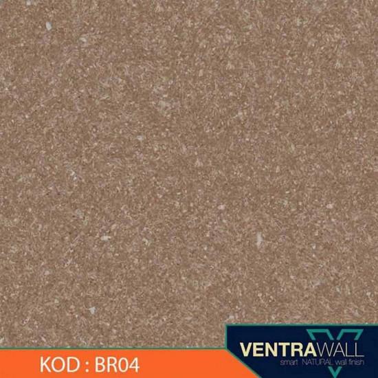 Kahverengi Duvar Boyası Ventrawall BR04