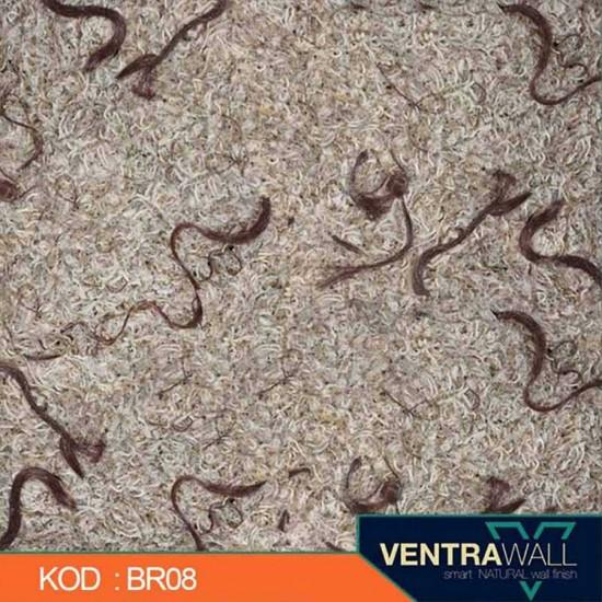 Kahverengi Duvar Boyası Ventrawall  BR08