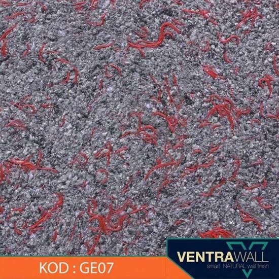 Gri Renk Canlı Duvar Sıvası GE07 Ventrawall