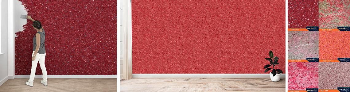 Kırmızı Duvar Boyası ile Güçlü Bir Dekorasyon!