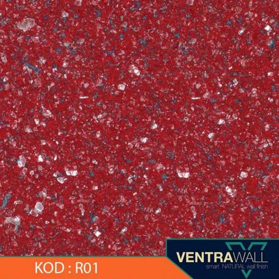 Kırmızı Duvar Boyası Ventrawall R01