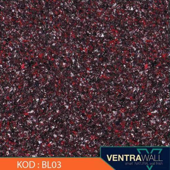 Siyah Duvar Boyası Ventrawall  BL03