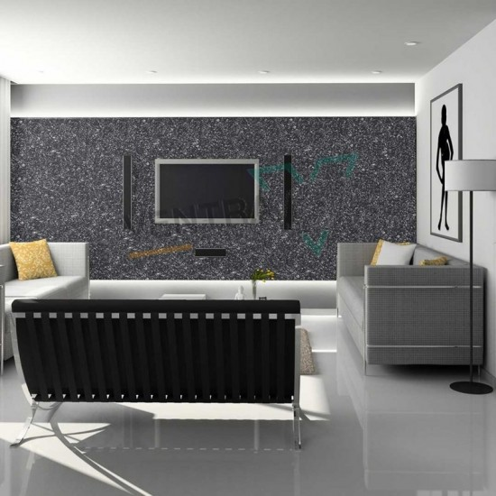 Siyah Duvar Boyası Ventrawall  BL01