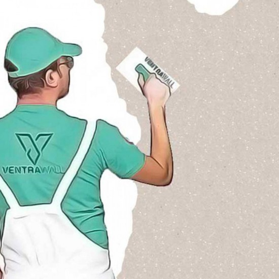 Krem Renk Ventrawall İpek Sıva C03