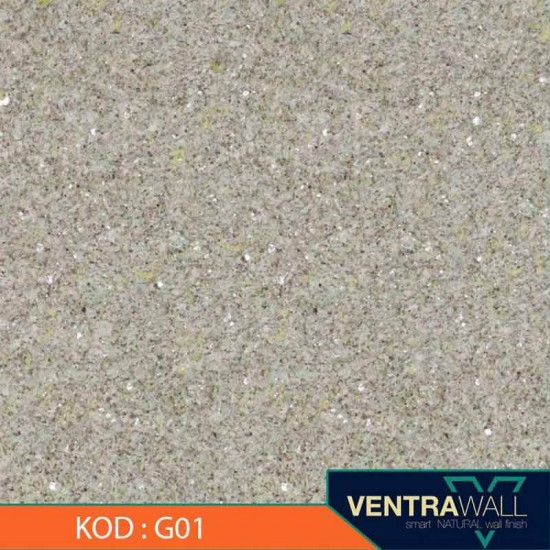 Yeşil Renk Duvar Boyası Ventrawall G01