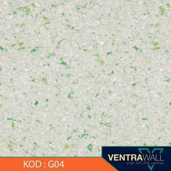 Yeşil Renk Duvar Boyası Ventrawall G04
