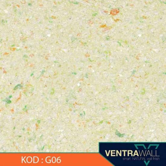 Yeşil Renk Duvar Boyası Ventrawall G06
