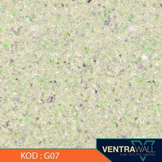 Yeşil Renk Duvar Boyası Ventrawall G07