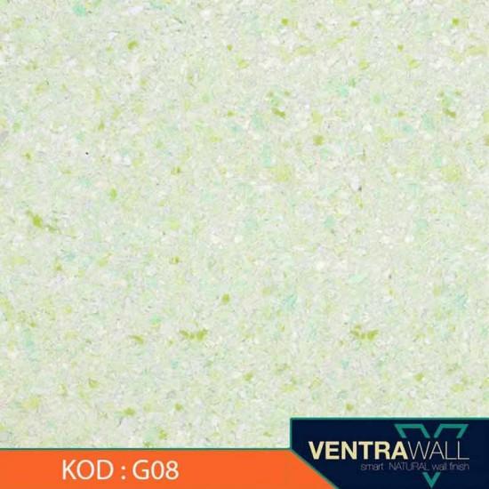 Yeşil Renk Duvar Boyası Ventrawall G08