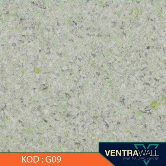 Yeşil Renk Duvar Boyası Ventrawall G09