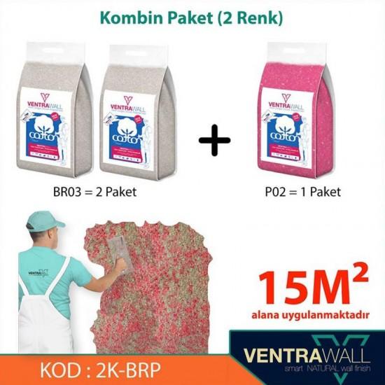 2 Kombine Renk Duvar Boyası Ventrawall 2K-BRP