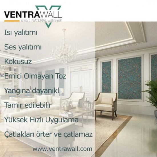 Beyaz Dayanıklı Duvar Boyası Ventrawall W05