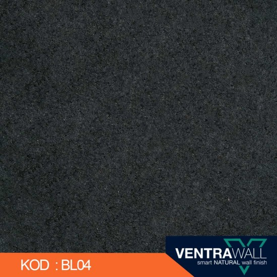 Siyah Duvar Boyası BL04 Ventrawall