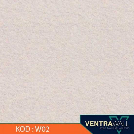 Beyaz Isı Yalıtımlı Duvar Boyası Ventrawall W02
