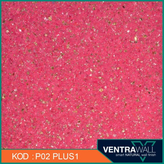 Pembe Isı Yalıtımlı Duvar Boyası Ventrawall P02-PLUS1
