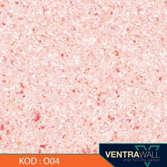 Turuncu Renk Duvar Boyası Ventrawall O04