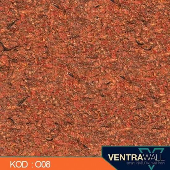 Turuncu Duvar Boyası Ventrawall O08