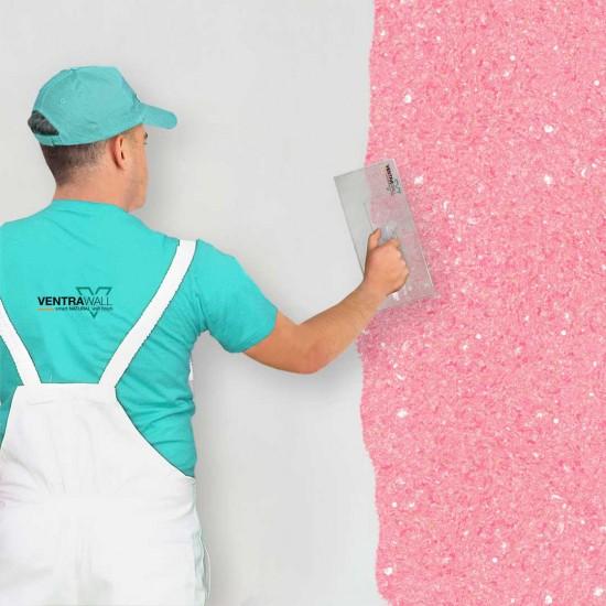 Pembe Renk Duvar Boyası Ventrawall P03