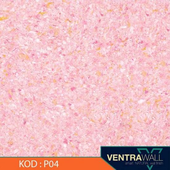 Pembe Renk Duvar Boyası Ventrawall P04