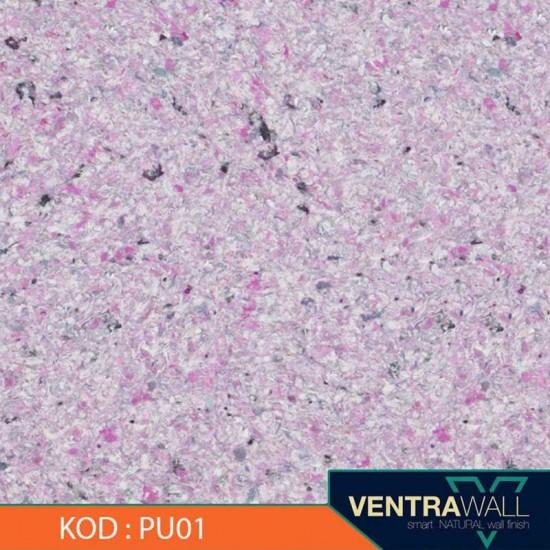 Mor Duvar Kaplaması Modeli Ventrawall PU01