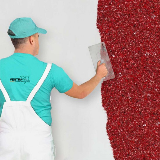 Kırmızı Duvar Boyası Ventrawall R06