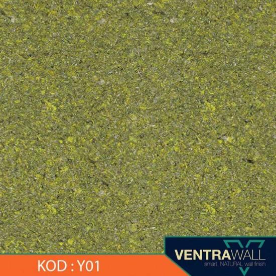 Sarı Renk  Duvar Boyası Ventrawall Y01
