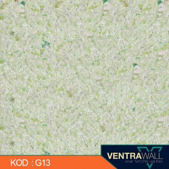 Yeşil Renk Duvar Boyası Ventrawall G13