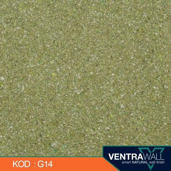 Yeşil Renk Duvar Boyası Ventrawall G14