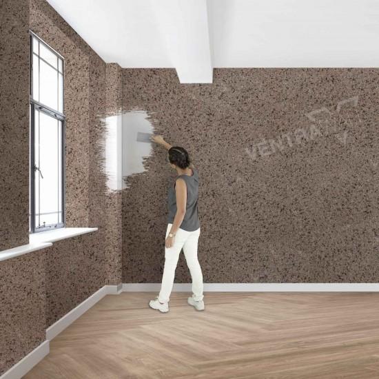 Kahverengi Duvar Boyası Ventrawall BR07